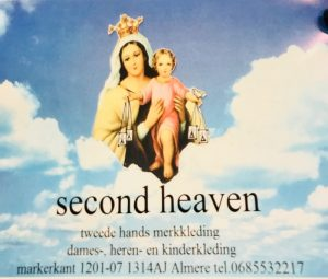 Parelborrel tussen de kleertjes @ Second Heaven Almere